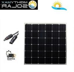 Mighty Max 150W Solar Panel 12V Mono Off Grid Battery Charge