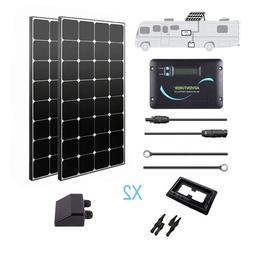 Renogy 200 Watt 12 Volt Monocrystalline Eclipse Solar RV Kit