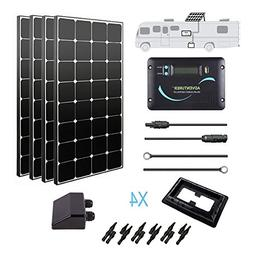 Renogy 400 Watt 12 Volt Monocrystalline Eclipse Solar RV Kit