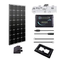 Renogy 100 Watts 12 Volts Eclipse Solar RV Kit with 30A PWM
