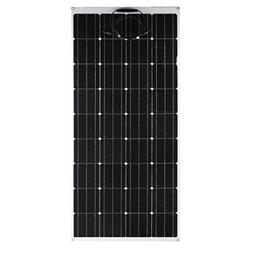 175W Monocrystalline Flexible Solar Panel Outdoor Solar Powe