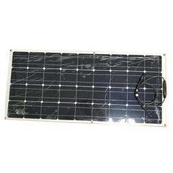 150W Monocrystalline Flexible Solar Panel Module Outdoor Sol