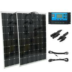 Monocrystalline Flexible Solar Panel Module Outdoor Solar Ch