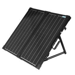 Renogy 60 Watt 12 Volt Monocrystalline Foldable Solar Suitca