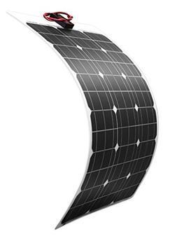DOKIO 50 Watt 12V 18V Monocrystalline Lightweight Solar Pane