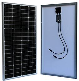 WindyNation 100 Watt 100W Monocrystalline Photovoltaic PV So