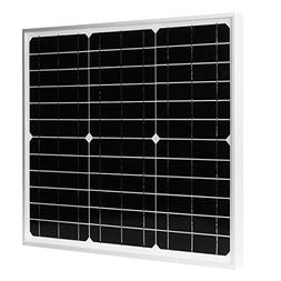 uxcell 30W 18V Monocrystalline silicon Solar Panel used for