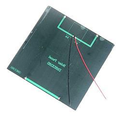 TOOGOO Monocrystalline silicon solar panels 6V4.5W DIY solar