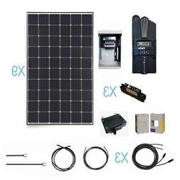 Renogy 2700 Watt Monocrystalline Solar Cabin Kit for Off-Gri