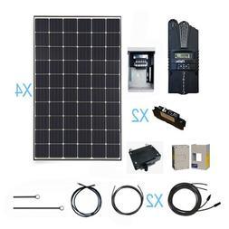 Renogy 1200 Watt Monocrystalline Solar Cabin Kit for Off-Gri