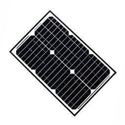 ALEKO 25W 25-Watt Monocrystalline Solar Panel