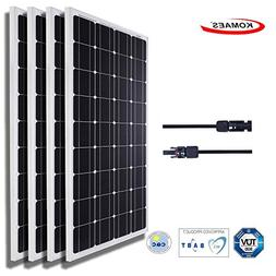 Komaes 400 Watts 12 Volts Monocrystalline Solar panel