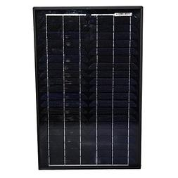 Mighty Max Battery 30 Watt Monocrystalline Solar Panel brand