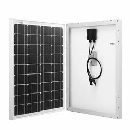 Komaes 50 Watts 12 Volts Monocrystalline Solar panel