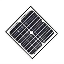 ALEKO 15W 12V 15-Watt Monocrystalline Solar Panel
