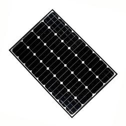 ALEKO 100W 100-Watt Monocrystalline Solar Panel
