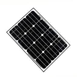 ALEKO SP40W12V 40 Watt 12 Volt Monocrystalline Solar Panel f