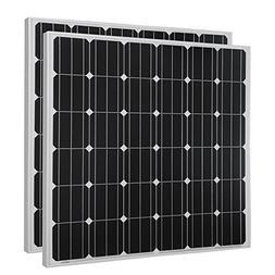HQST 150 Watt 12 Volt Monocrystalline Solar Panel