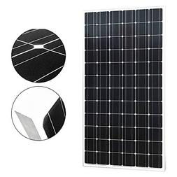 SUNGOLDPOWER 200 Watt 24V Monocrystalline Solar Panel,72pc