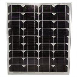50 Watt Monocrystalline Solar Panel - Mighty Max Battery bra