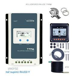 EPEVER MPPT Charge Controller 30A, Solar Controller 100V PV