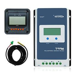 EPever MPPT Solar Charge Controller 20A Tracer2210AN + MT50