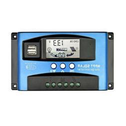 MPPT Solar Panel Regulator Battery Solar Charger Controller