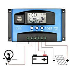 mppt solar panel regulator battery solar charger