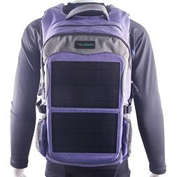 Kingsolar Multiple Function Solar Backpack with 12W Solar Pa