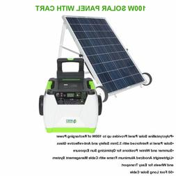 Nature's Generator 1800W Portable Solar Generator W/ 100W He