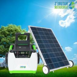Portable Nature's Generator 1800W Solar & Wind Powered Gener