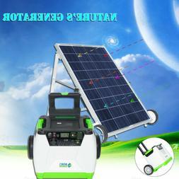Nature's Generator 1800W Solar Powered Generator GOLD System