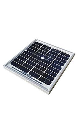 Natural Current NCSP10P5WPT Solar Panel Home and Garden Boat