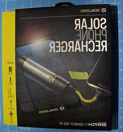 New Goal Zero/0 Nomad 7 v2 Solar Panel & Switch 10 Li-ion Mu