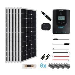 Renogy New 600 Watt 24 Volt Monocrystalline Solar Premium Ki