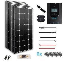 Renogy New 600 Watt 24 Volt Solar Premium Kit