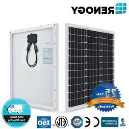 NEW Compact Design Renogy 50W 80W Watt 12V Volt Mono Solar P