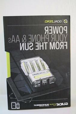 NEW Goal Zero Guide 10 Plus Solar Recharging Kit Nomad 7 Pan