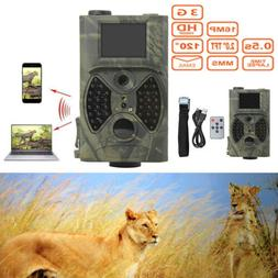 New HC-300 HD Infrared IR 12MP Game Trail Scouting Hunting C