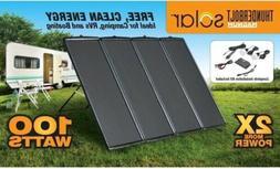 NEW Thunderbolt Magnum # 68751 100-Watt RV BOAT Solar Power