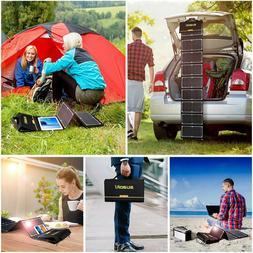 New SUAOKI Solar Fast Charger 60W 100W 160W Foldable Solar P