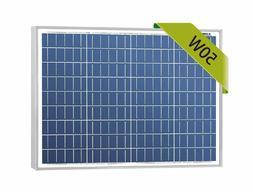 Newpowa 50W Poly Solar Panel 50 Watts Polycrystalline Module
