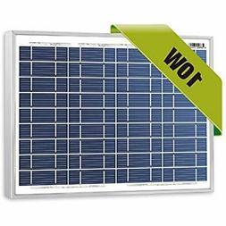 Newpowa Solar Panels 10 Watts 12 Volts Polycrystalline 10W 1