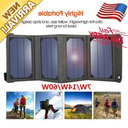NewPower Solar Panel Charger 7W/14W/60W Portable for Smartph