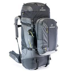 Roamm Nomad 65 +15 Backpack - 80L Liter Internal Frame Pack