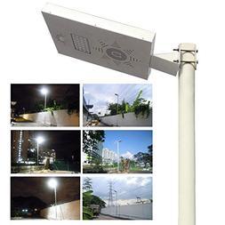 Solar Light Mart Solar Omega Street Light with LiFePO4 Lithi