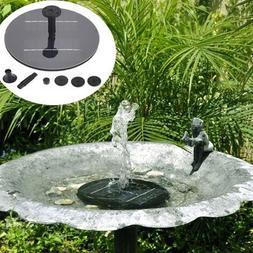 Outflow - 8v Solar Panel Brushless Water Pump Garden Floatin