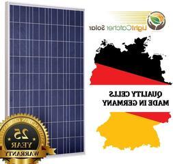 100 watt solar panel 100W 12V Poly for Off Grid RV Boat Home