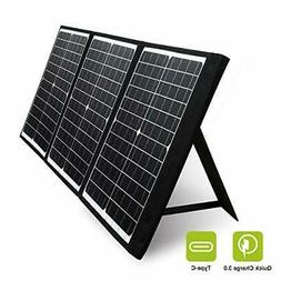 PAXCESS 60W 18V Portable Solar Panel Off Grid Foldable Solar