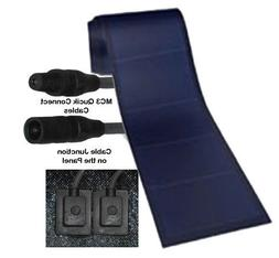 Peel & Stick 136 watt Uni-Solar Laminate Solar Panel Flexibl